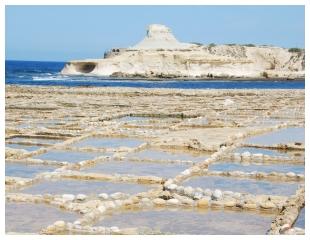 Malta: Zoutpannen op Atlantis