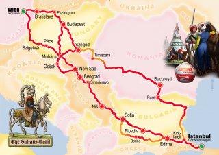 Sultan's Trail: goedkoop wandelen in Oost-Europa