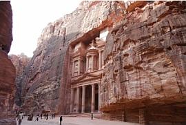 Vanuit Egypte naar Wadi Rum en Petra
